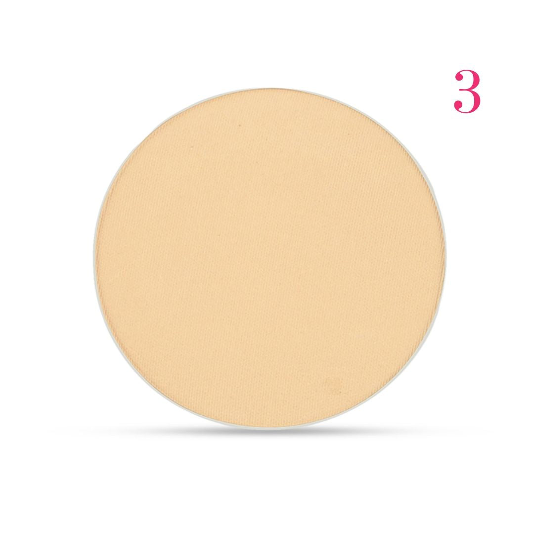 Clove + Hallow pressed mineral foundation powder shade 3 AILLEA