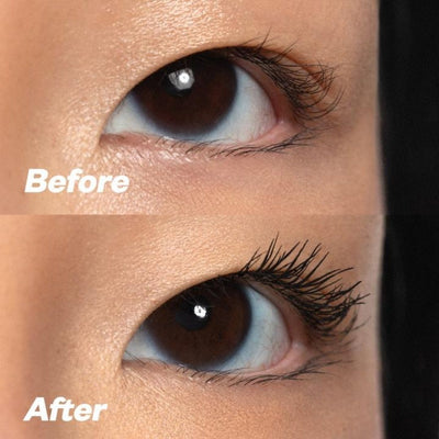 Kosas Big Clean Mascara Before and After 3 - AILLEA