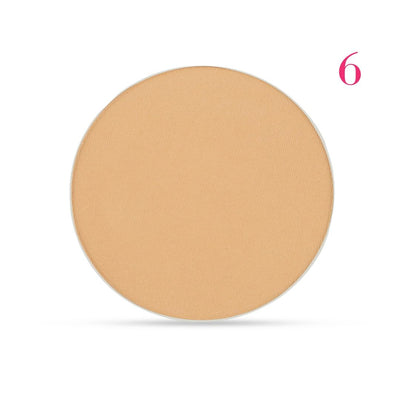 Clove + Hallow pressed mineral foundation powder shade 6 AILLEA