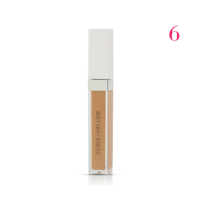 Clove + Hallow Conceal and Correct Concealer shade 6  AILLEA