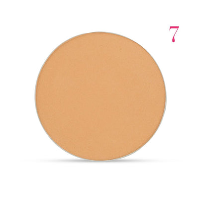 Clove + Hallow pressed mineral foundation powder shade 7 AILLEA