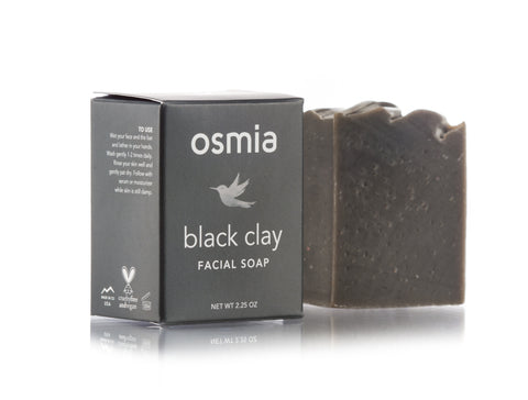 Black Soap with Charcoal and Dead Sea Mud