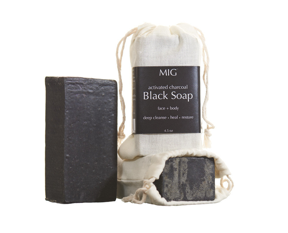 Black Soap with Charcoal and Dead Sea Mud - AILLEA
