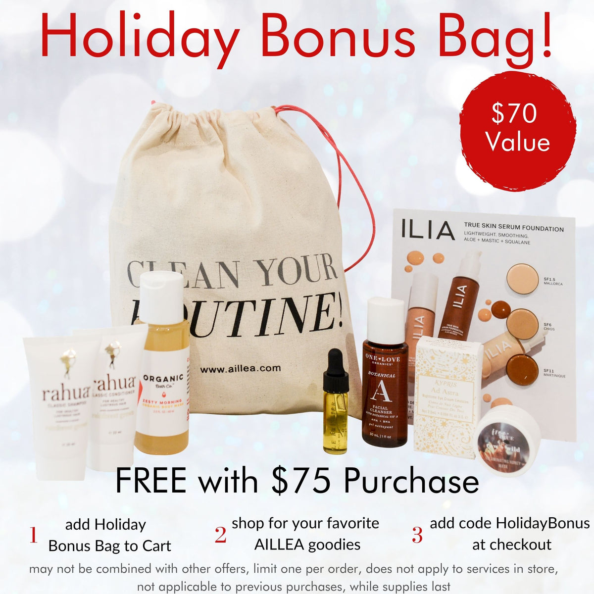 Holiday Bonus Bag