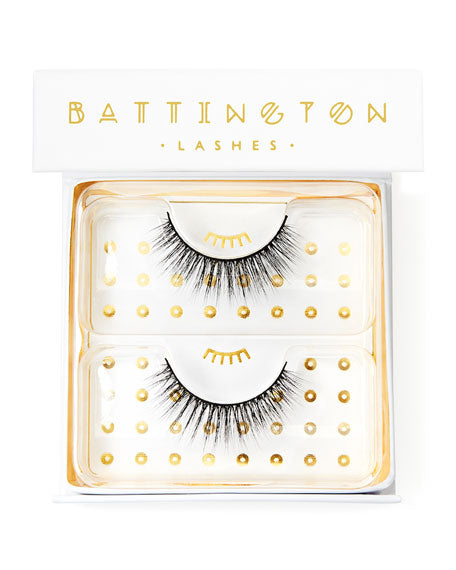 Battington False Lashes - Monroe 3D - AILLEA