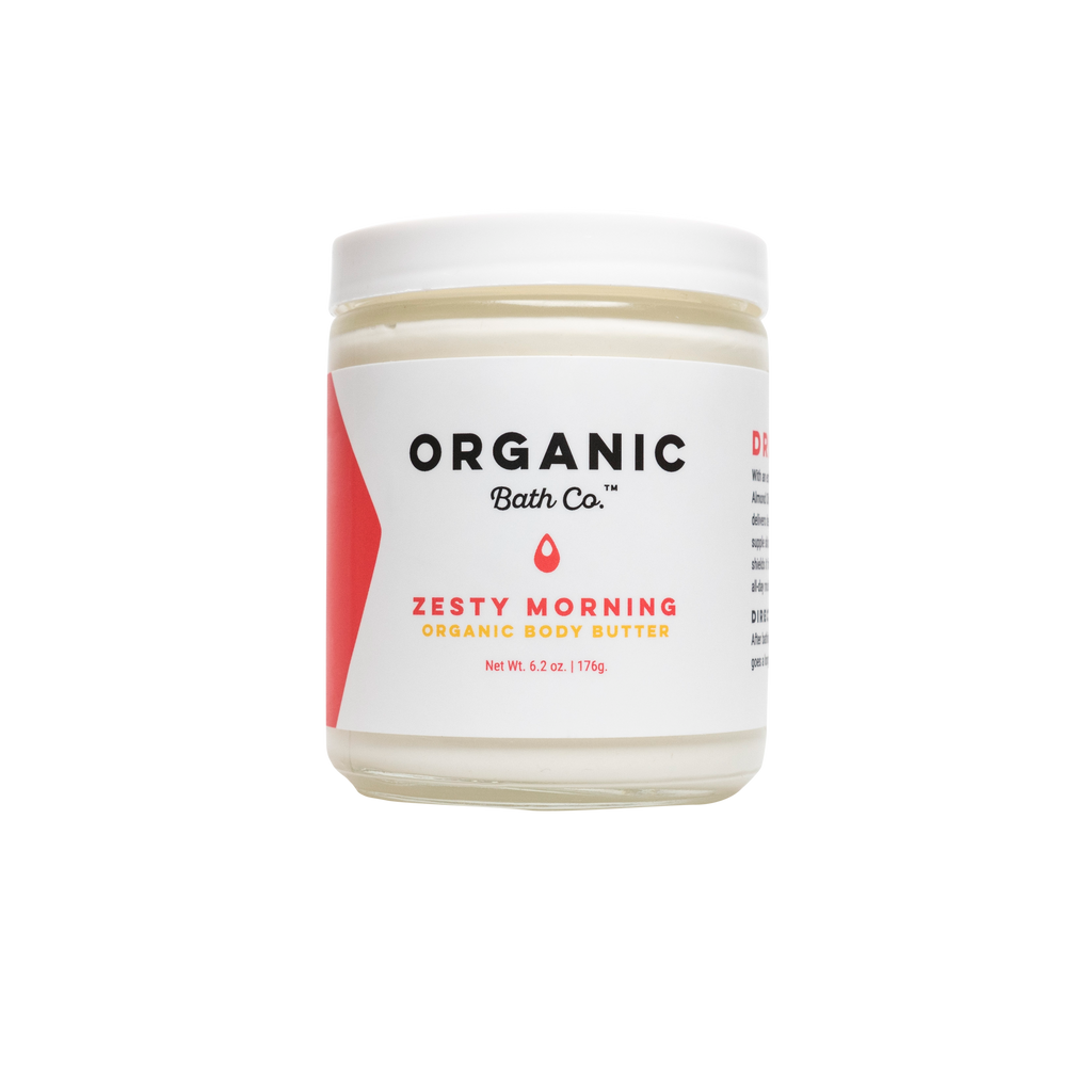 Organic Bath Co Zesty Morning Organic Body Butter - NEW PACKAGING
