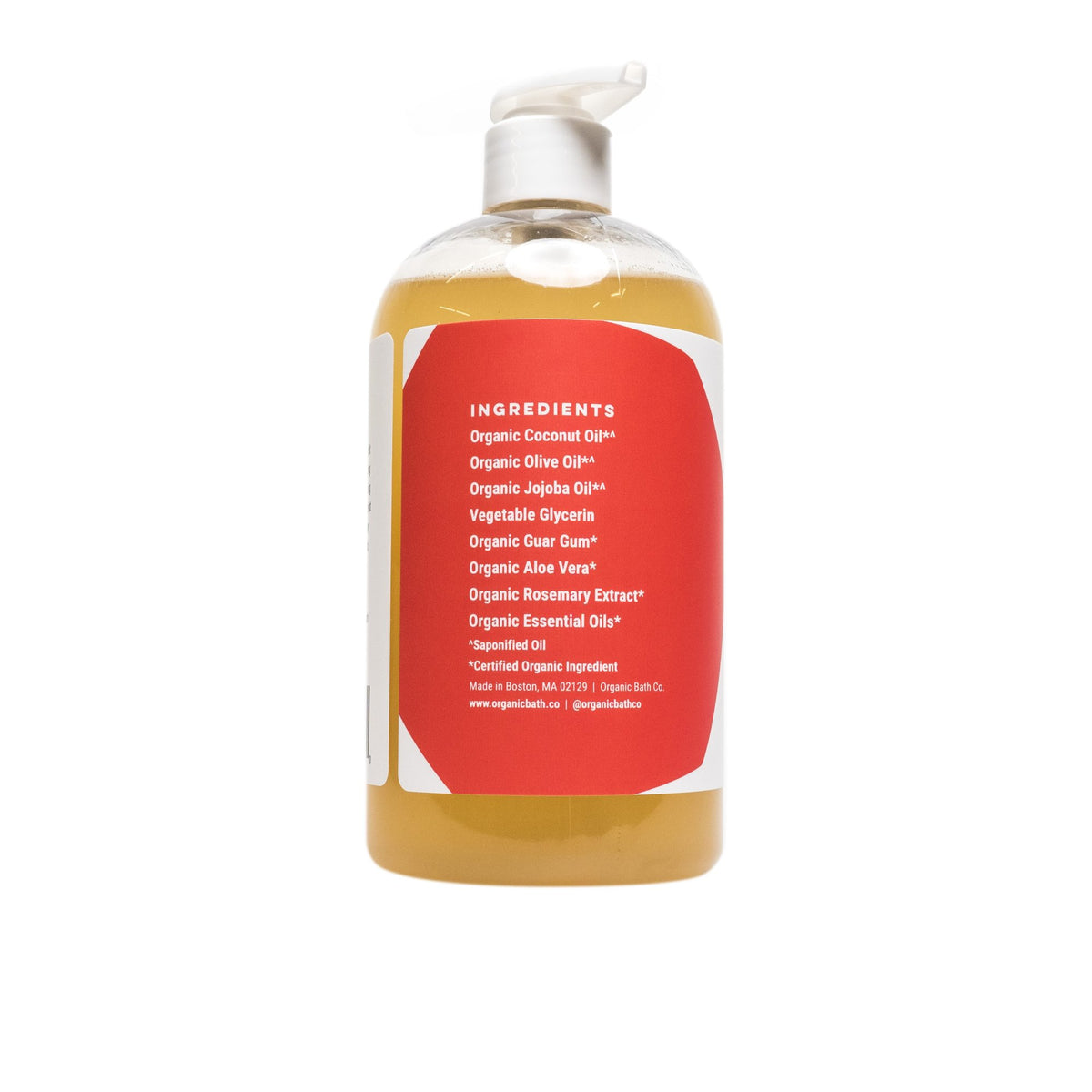 Organic Bath Co Zesty Morning Body Wash - AILLEA