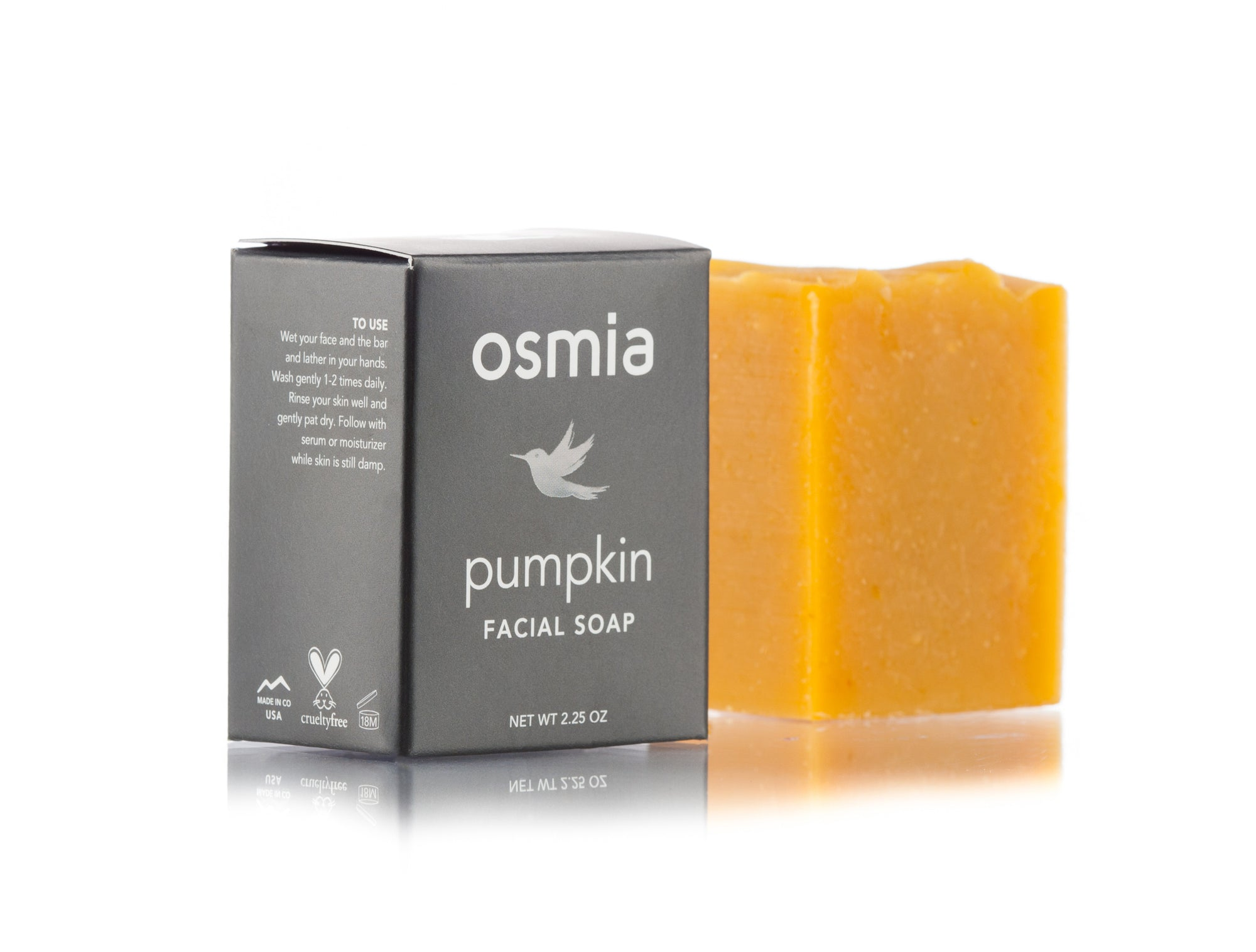 Osmia Pumpkin Facial Soap - AILLEA