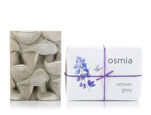 Osmia Vetiver Grey Soap - AILLEA