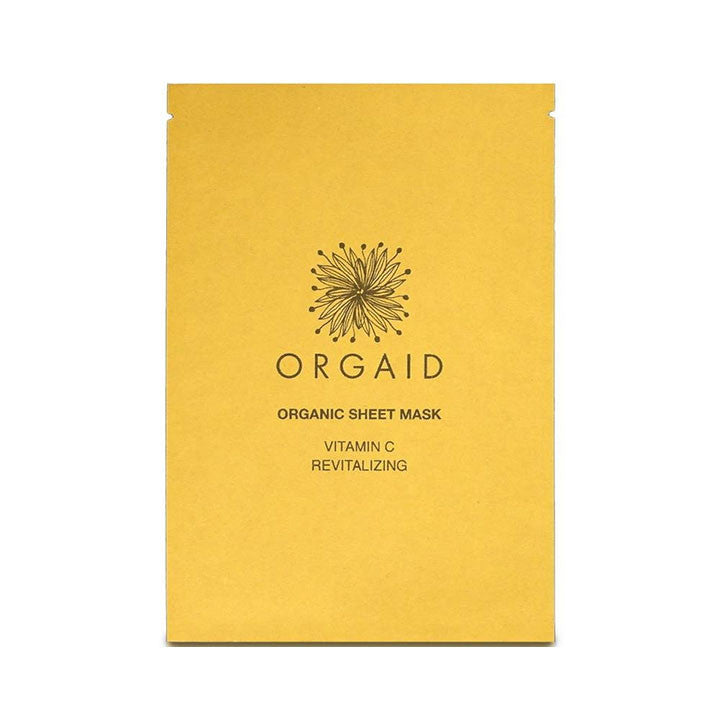 Orgaid Vitamin C Revitalizing Organic Sheet Mask - AILLEA