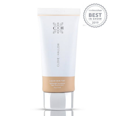 clove + hallow skin tint with instyle award AILLEA