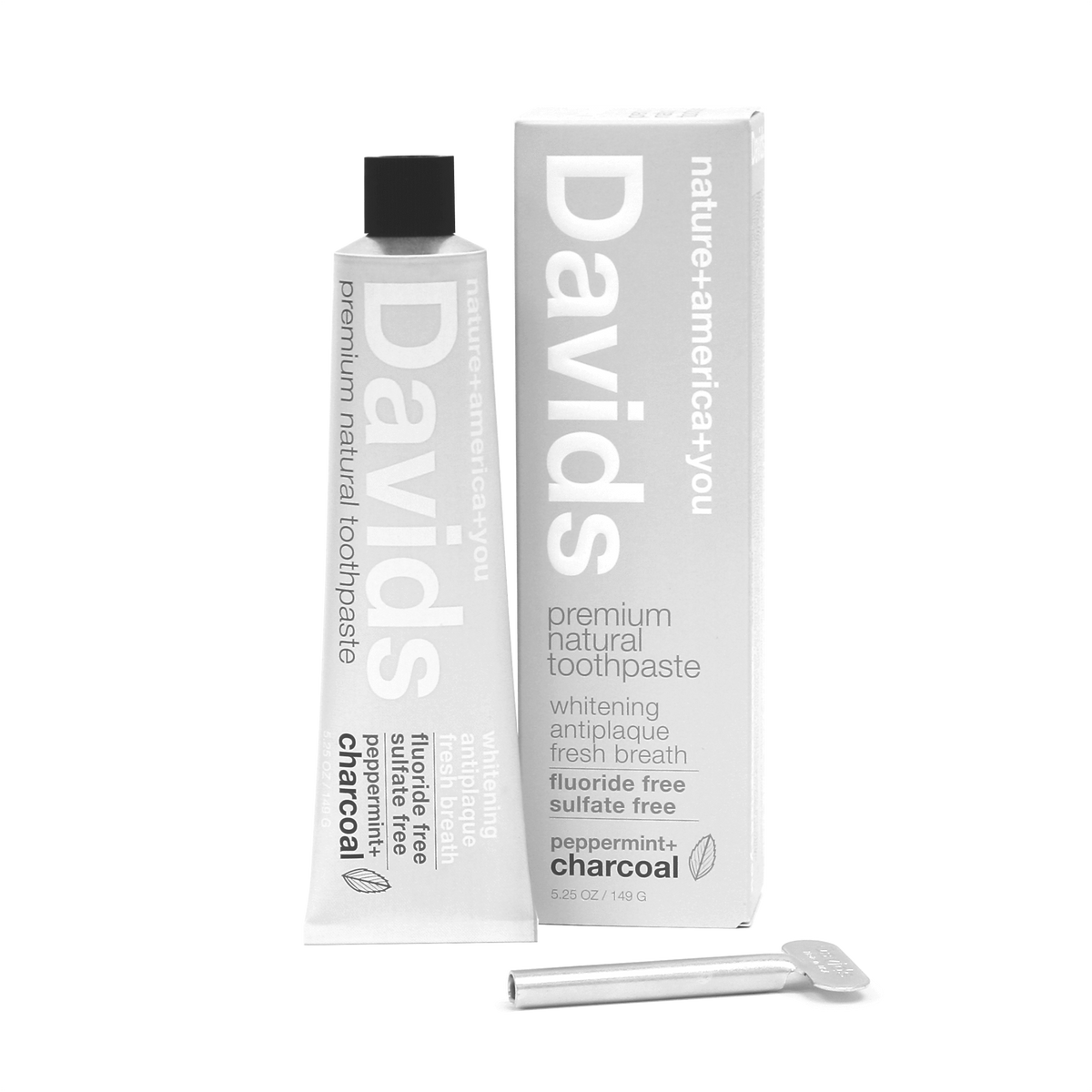 Davids Charcoal Toothpaste - AILLEA