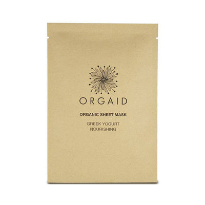 Orgaid Greek Yogurt and Nourishing Organic Sheet Mask - AILLEA
