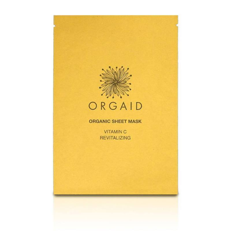 Orgaid Vitamin C and Revitalizing Sheet Mask - Box of 4