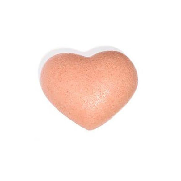 The Cleansing Sponge - Rose Clay Heart