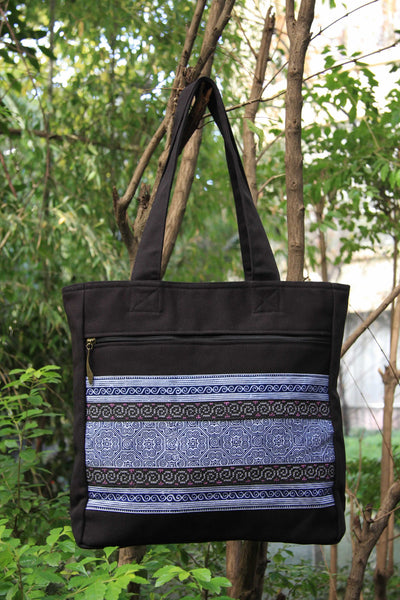 Hmong Handmade Medium Tote Bag