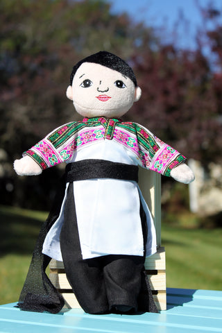Hmong Handmade Female Ruby Doll