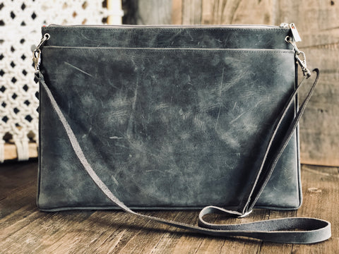 Berck™ Leathers - LOUIE Large Crossbody/Clutch
