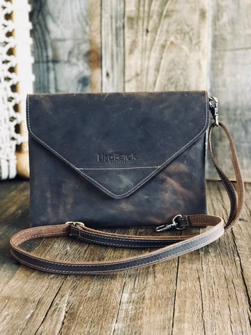 Berck™ Leathers - LANY Envelope Crossbody/Clutch