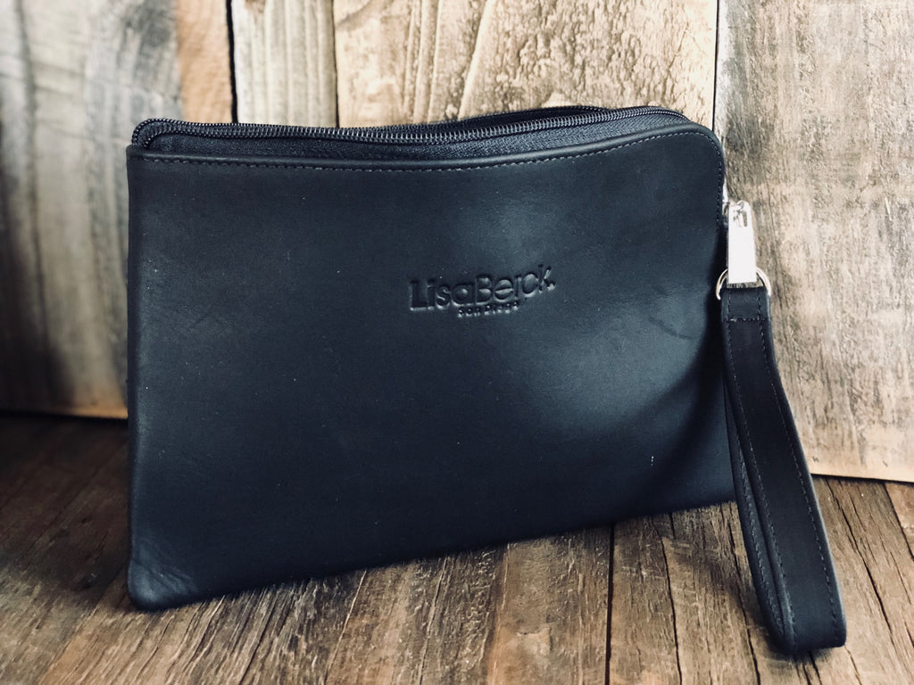 Berck™ Leathers - VANNIE Wallet/Clutch Wristlet