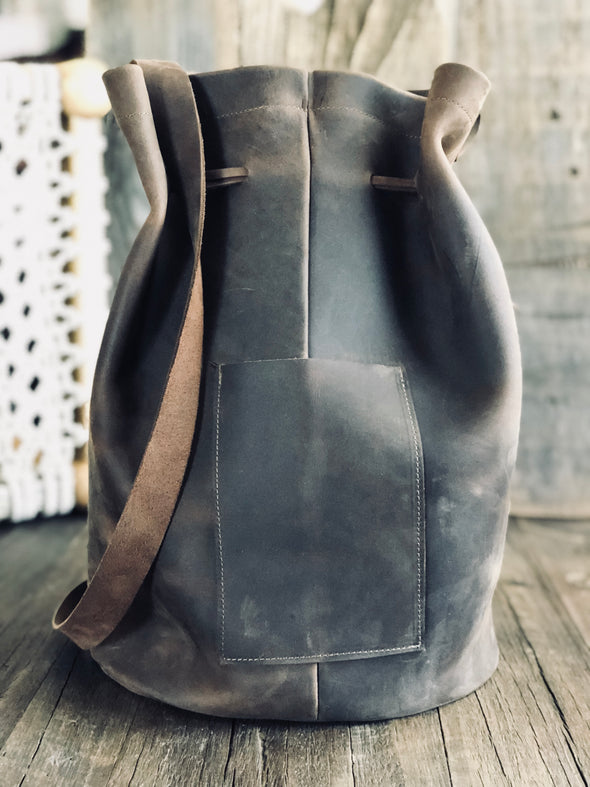 KIMMY B Bucket - Leather