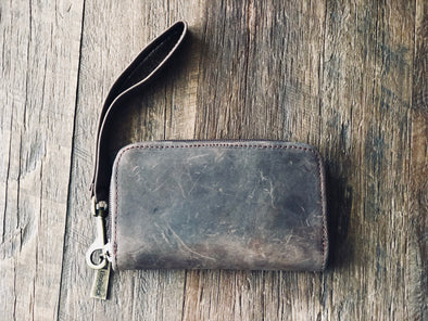 EMILIE Wallet/Wristlet - Leather