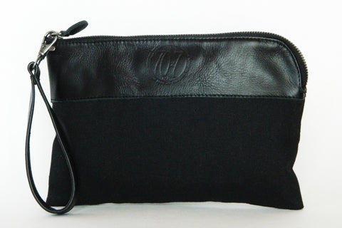 Leather Tablet Mini Case/Clutch/Wristlet (More Color/Fabric Options Available)