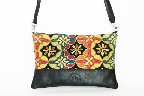 La Jolla Crossbody/Day Clutch (More Color/Fabric Options Available)