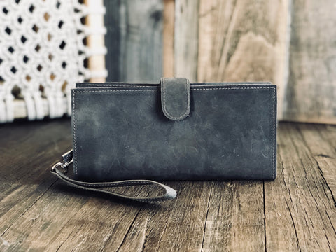 Berck™ Leathers - LISA Wallet / Phone Clutch