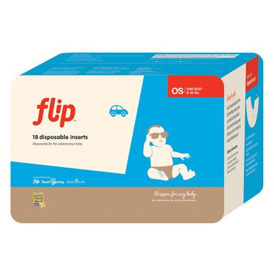 Flip disposable Inserts- 18pack