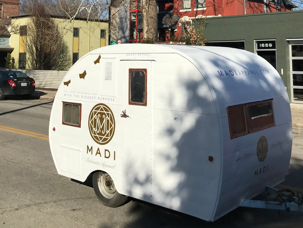 Grand Opening of MADI Mobile boutique at First Fridays KC!