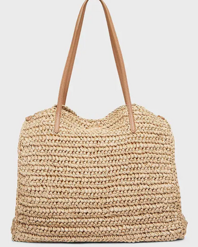straw beach bag banana republic