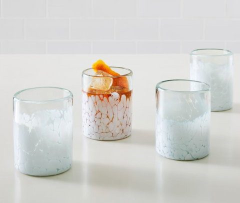 cocktail glasses from west elm