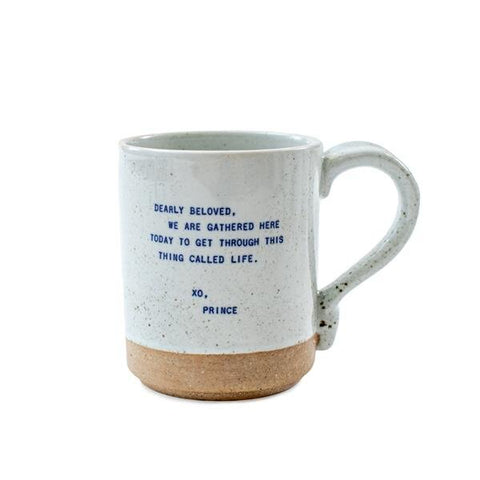coffee mug with prince quote