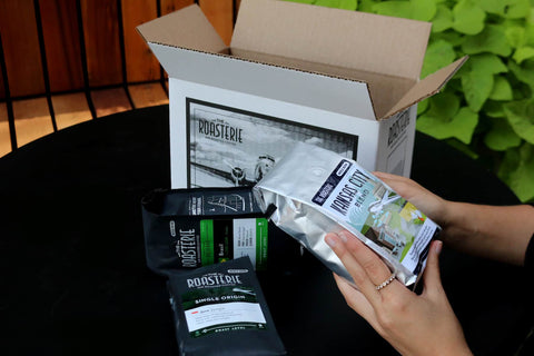roasterie kansas city coffee subscription box