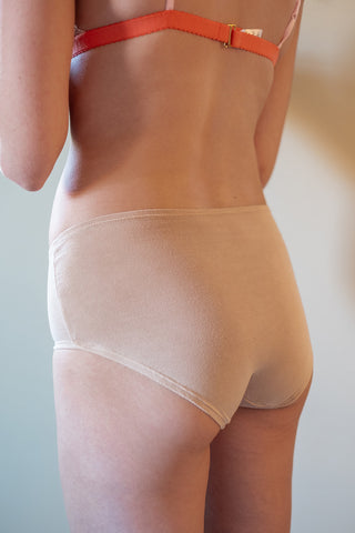 Modest Bikini Panty in Blush - The Mimi