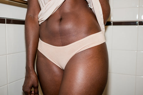 The Pamela - Cheeky Bamboo Brazilian in Blush