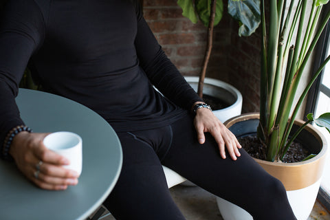 Bamboo Long Sleeve in Black