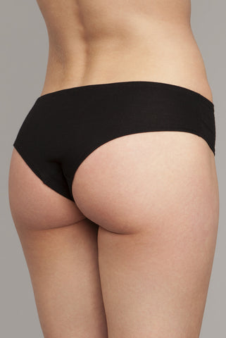 The Kyle - Classic Boyshort in Black