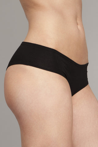 The Kyle - Black Classic Boyshort