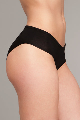The Mimi - Black Modest Bikini