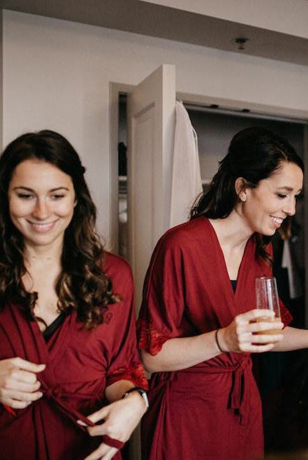 Bamboo Robe 3 Pack for Bride and Bridesmaids