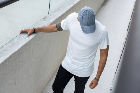 All Day Every Day, Staple Basic White Tee in Bamboo