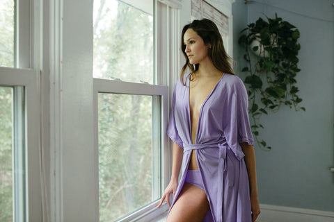 Bamboo Robe 4 Pack for Bride and Bridesmaids