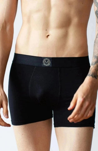 Bamboo Boxer Brief - in Black