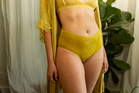 Bamboo Robe in Marigold - The Karen
