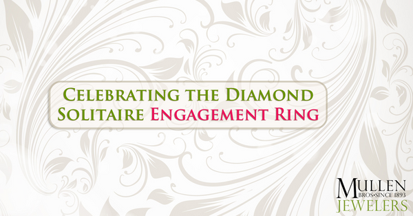 Celebrating the Solitaire Engagement Ring