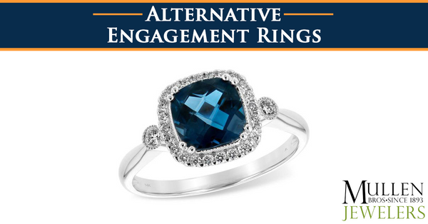 Alternative or Non-Traditional Engagement Rings