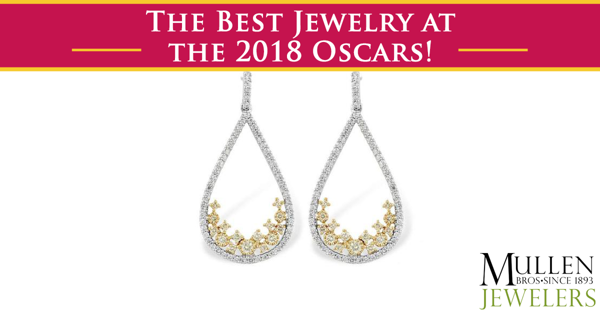 Jaw-Dropping Jewelry Sparkled at the 2018 Academy Awards Show