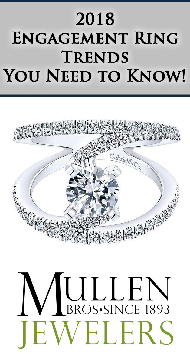 2018 Diamond Engagement Ring Trends